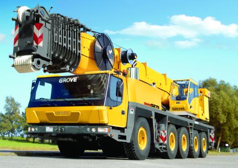 Grove GMK 5275 275 Ton