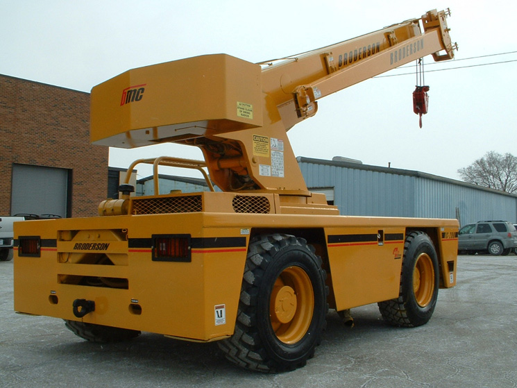 Broderson IC 200 - 15 Ton - back