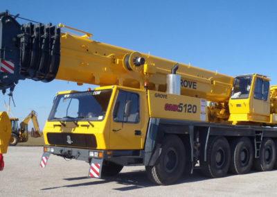 Grove GMK 5120B: 120 Ton