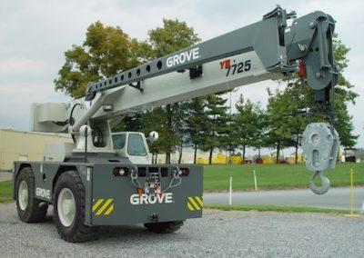 Grove YB7725: 25 Ton
