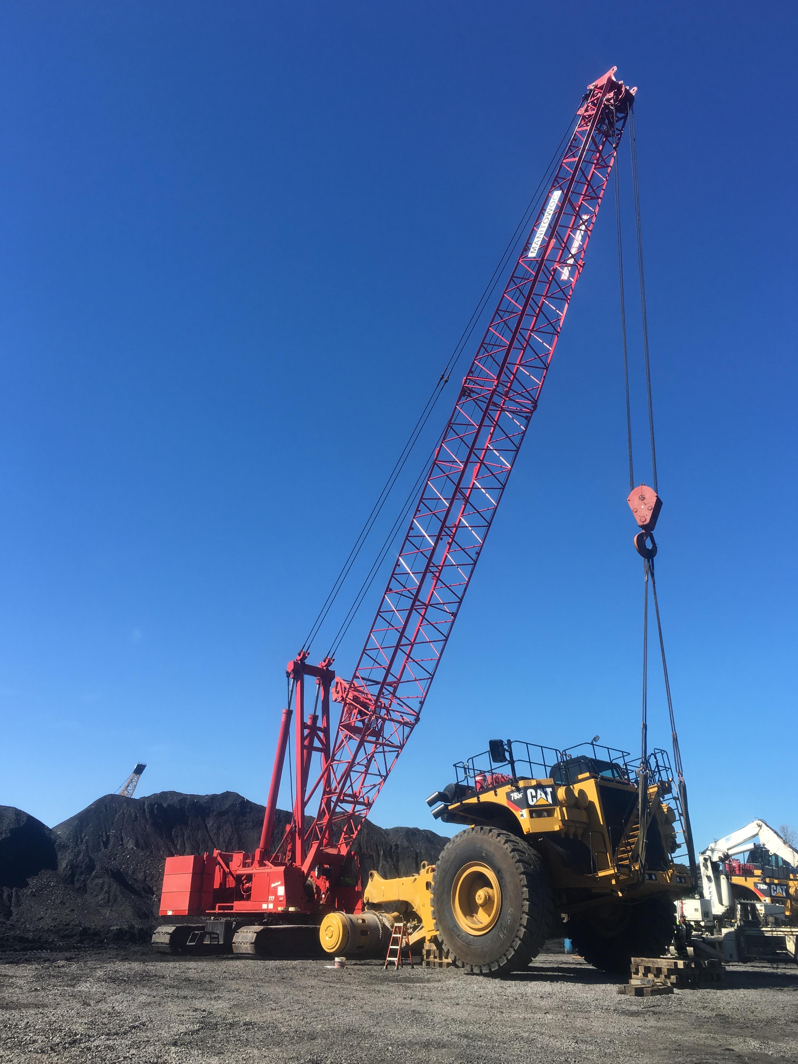 Coal Mining Equipment - G&R Crane Rental - Pics